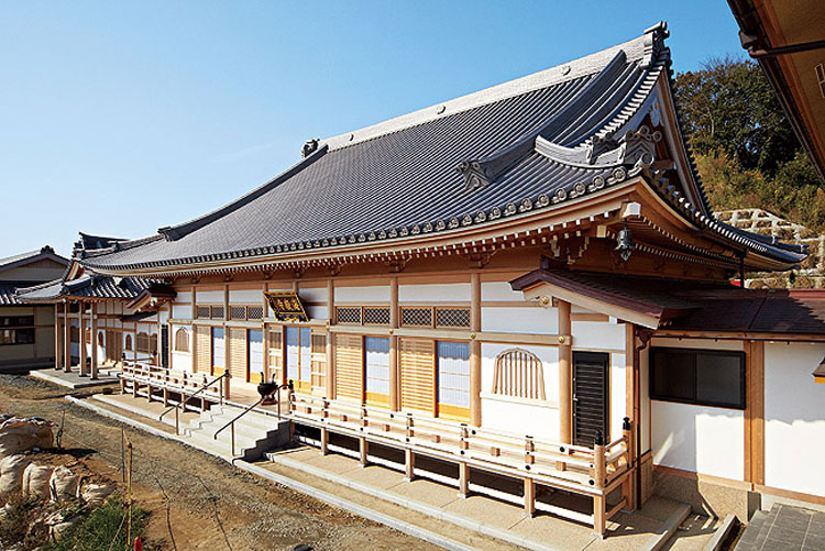 海嶽寺様本堂