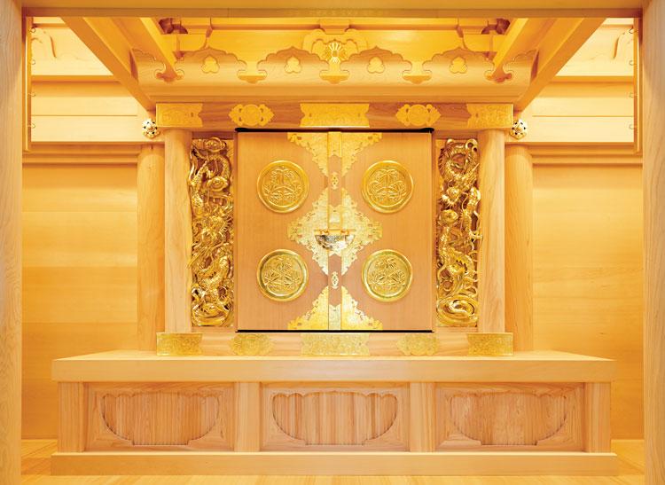 翠雲堂施工例 妙福寺様 日蓮宗 千葉県銚子市 妙見宮内御厨子・須弥壇