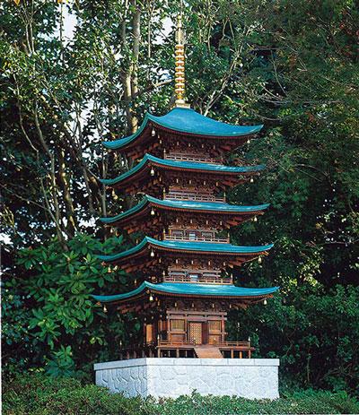 五重塔 私邸