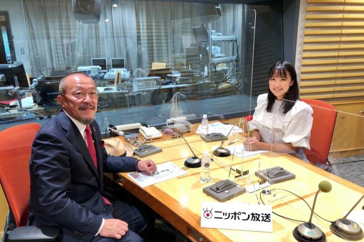 ニッポン放送 竹内由恵のT-Times 弊社代表取締役山口豊がインタビューを受けました